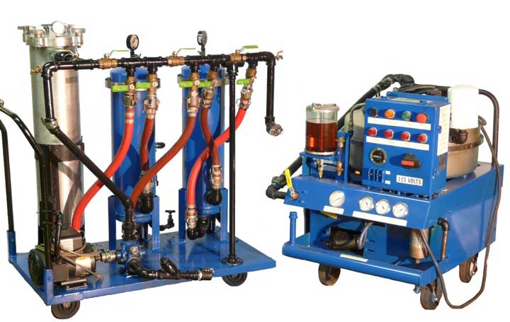 oil purification system rentals